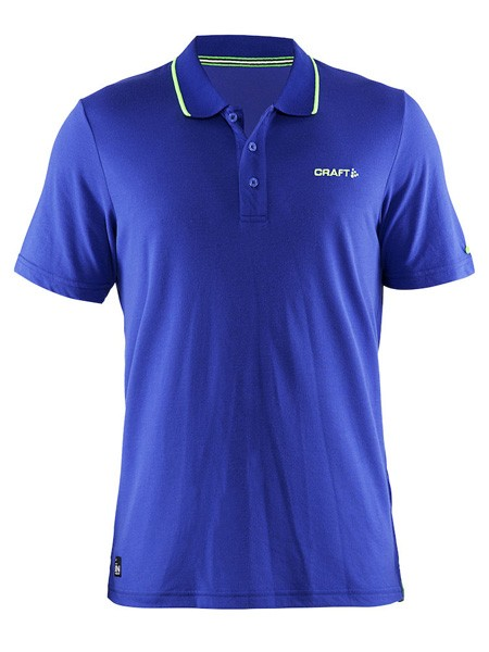 Craft IN-THE-ZONE Polo Pique Shirt pique atlantic