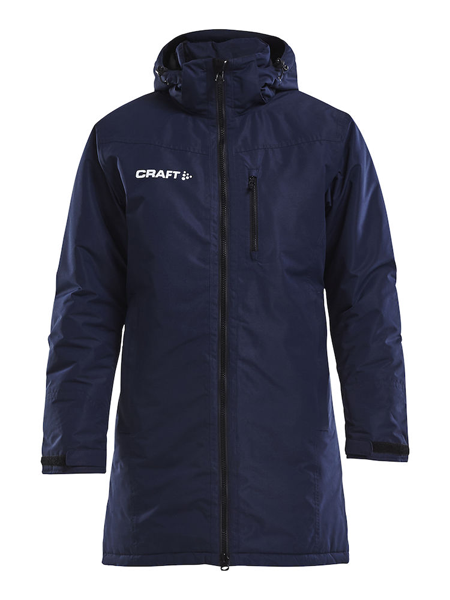 Craft Parka lang Jacke Warm Men Navy Drachenboot
