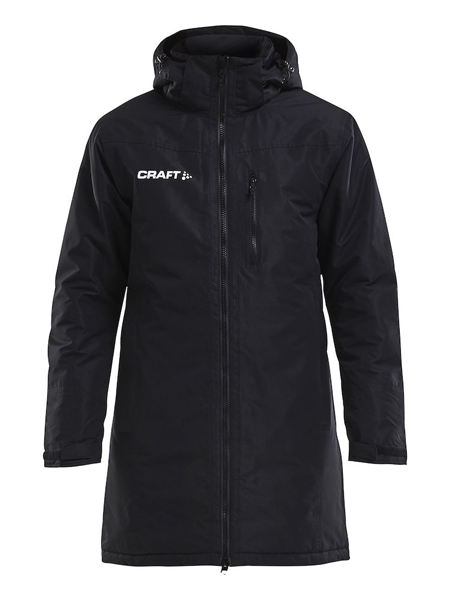 Craft Parka lang Jacke Warm Men Black Drachenboot