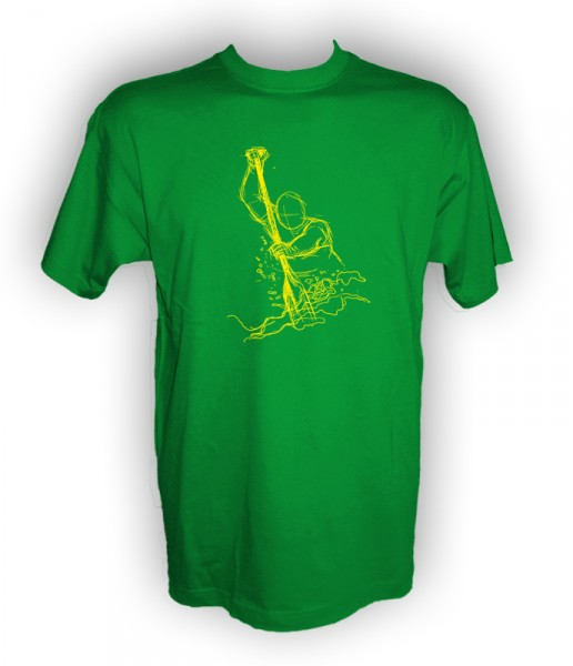 Funshirt Dragon Fighter green yellow
