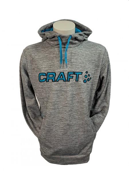 Craft Logo Hood Kapuzenpullover Herren grey/zen