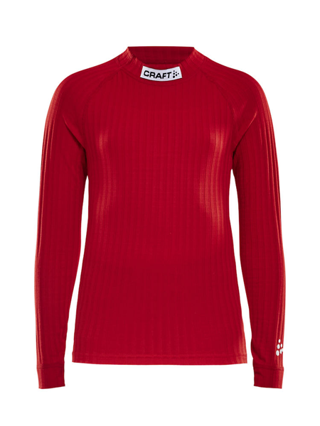 Craft Progress Baselayer CN LS Junior Bright Red