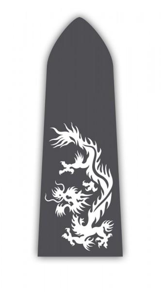 Paddelaufkleber Dragon III