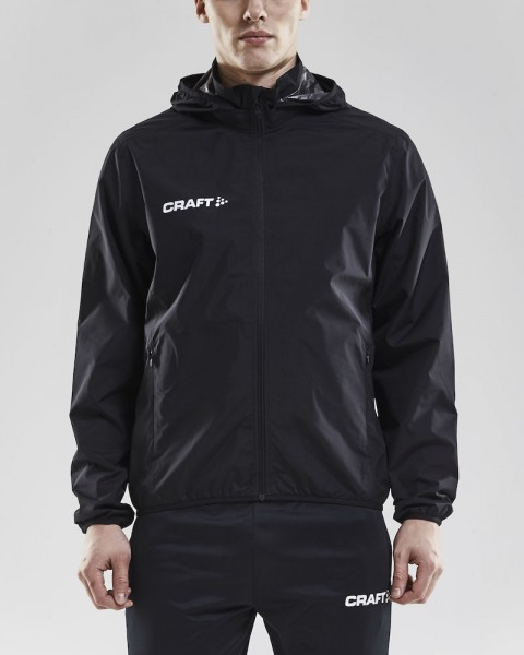 Craft Regenjacke men schwarz