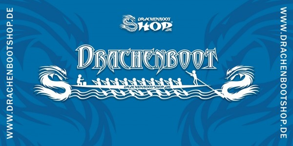 Drachenbootshop Handtuch mit deinem Logo