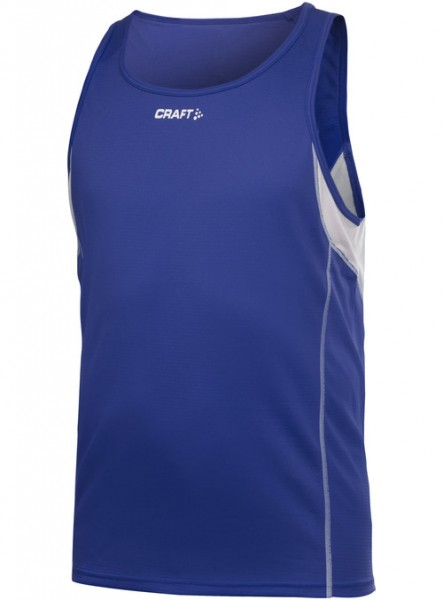 Craft Track and Field Singlet kobald/blau Men
