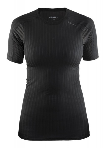 Craft Active Extreme 2.0 Short Sleeve black woman