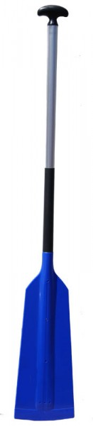 Fun-Drachenbootpaddel Plastik / Kunststoff - blau