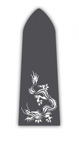 Paddelaufkleber Dragon V