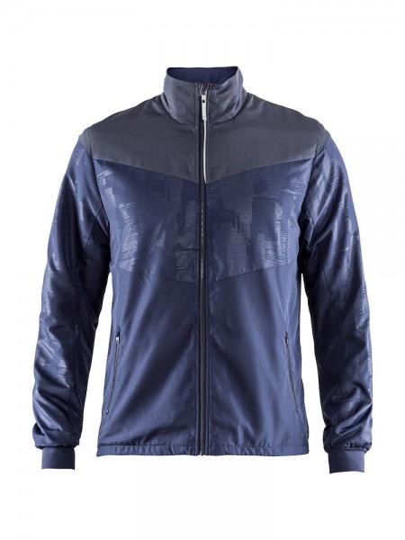 Craft Eaze Winter Jacket mit Zipper men maritime/gra