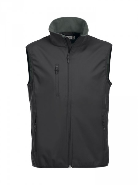 Clique Basic Softshell Vest Weste black