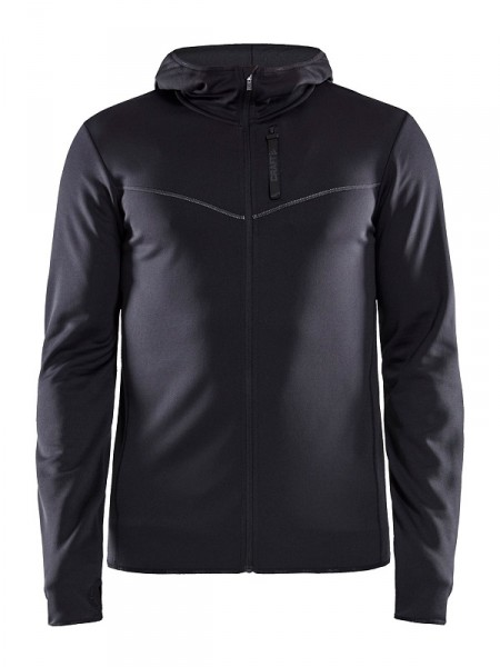 Craft EAZE Sweat Zipper Jacke Men black